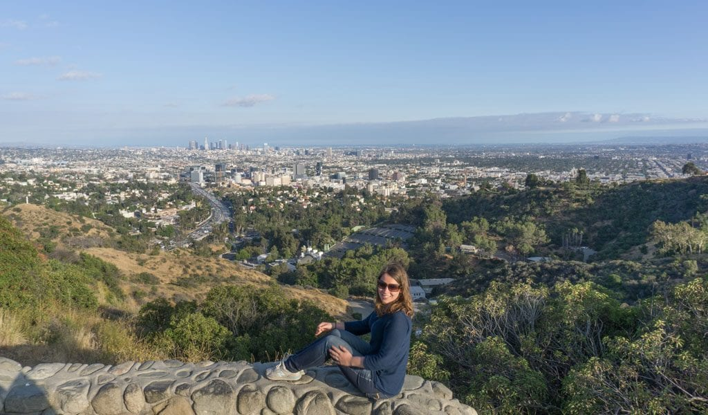 Los Angeles in een dag - Hollywood Bowl Overlook