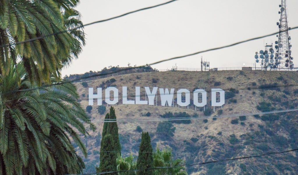 Los Angeles in een dag - Hollywood sign