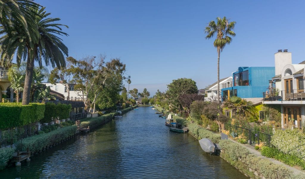 Doen in Los Angeles in een dag - Kanalen Venice