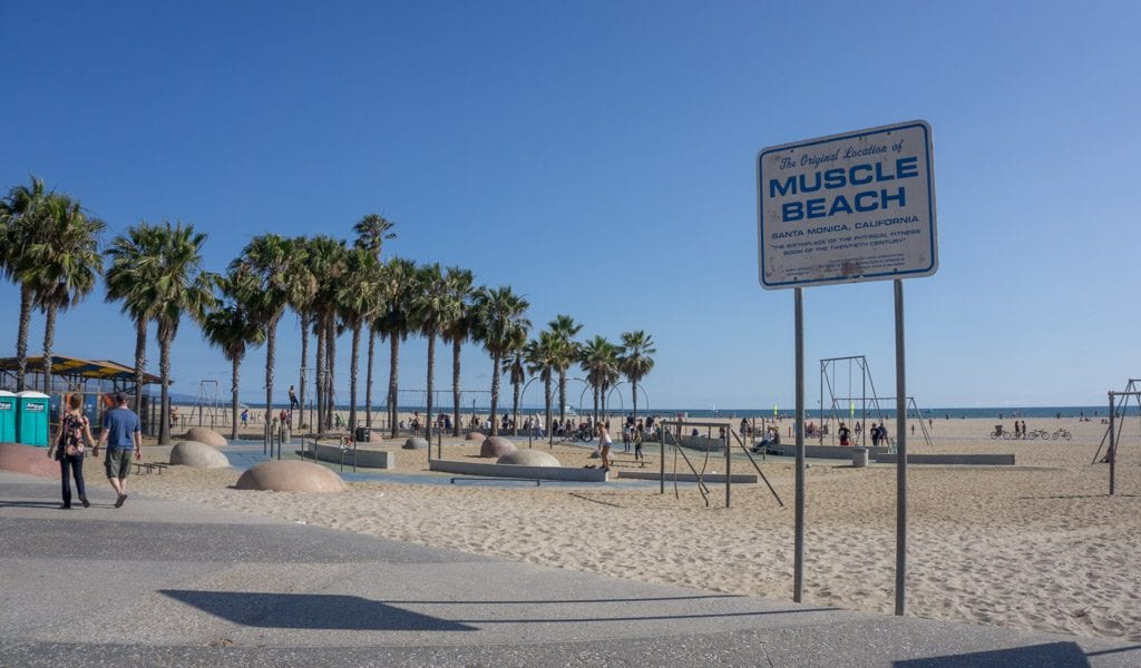 Doen in Los Angeles in een dag - Santa Monica Muscle Beach