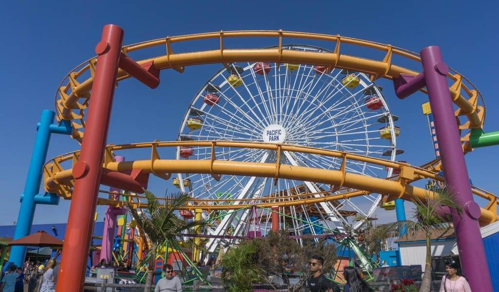 Doen in Los Angeles in een dag - Santa Monica Pacific Park