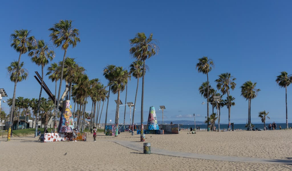 Los Angeles in een dag - Venice Beach