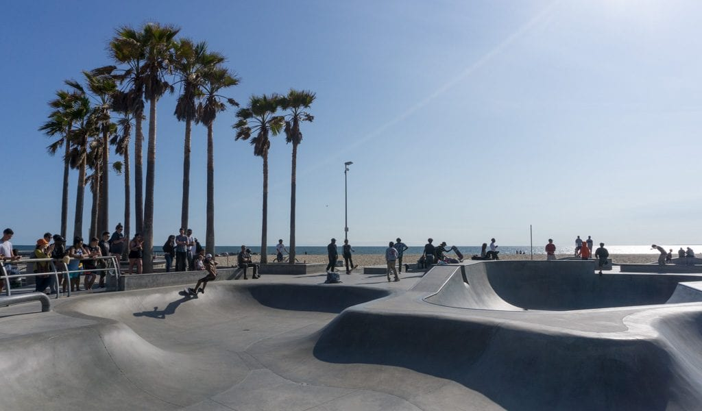 Doen in Los Angeles in een dag - Venice Skatepark