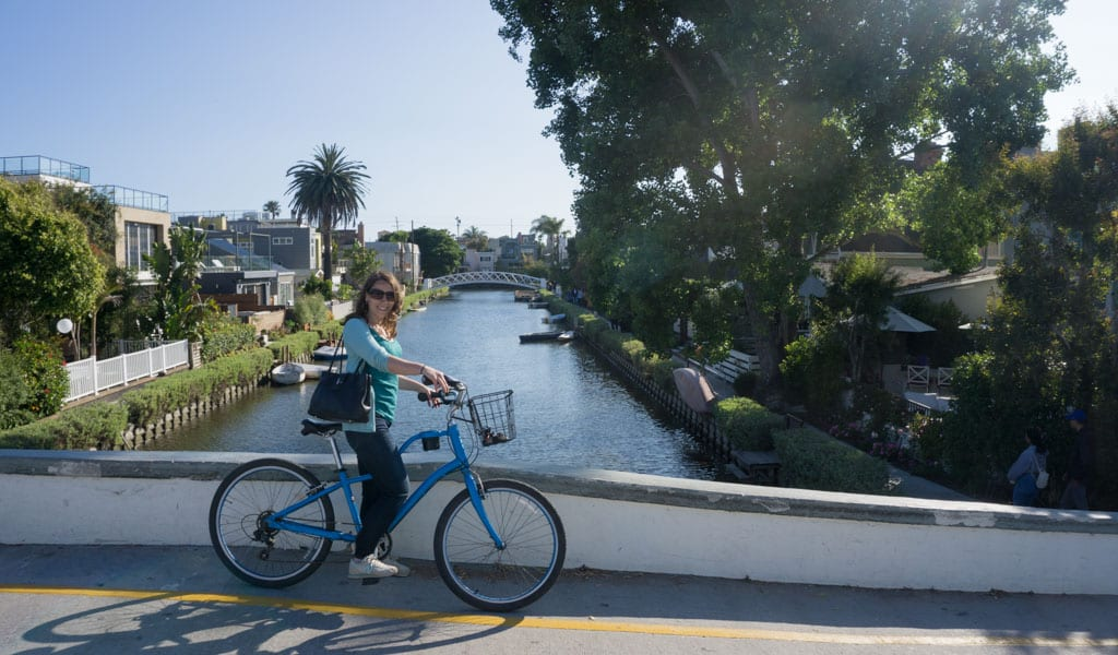 Los Angels in een dag - Venice Canals