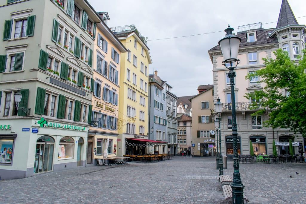 Aldtstadt in Zürich