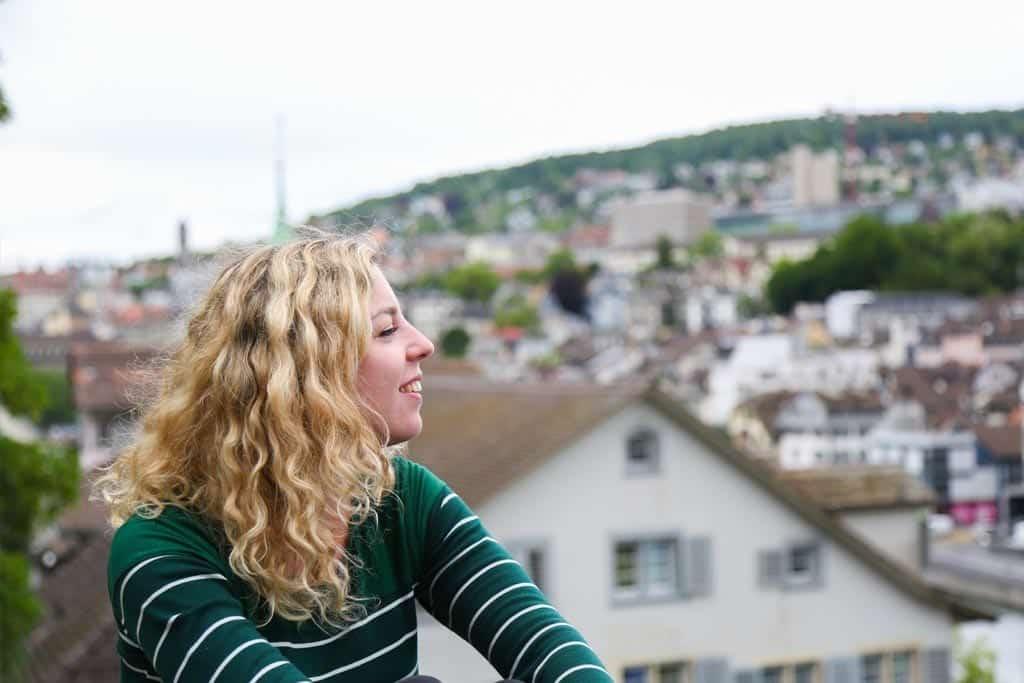 Uitzicht over de Altstadt