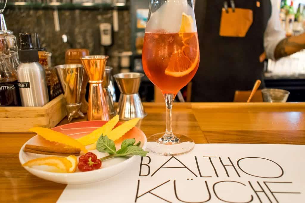 Cocktailworkshop bij Balto Küche and Bar