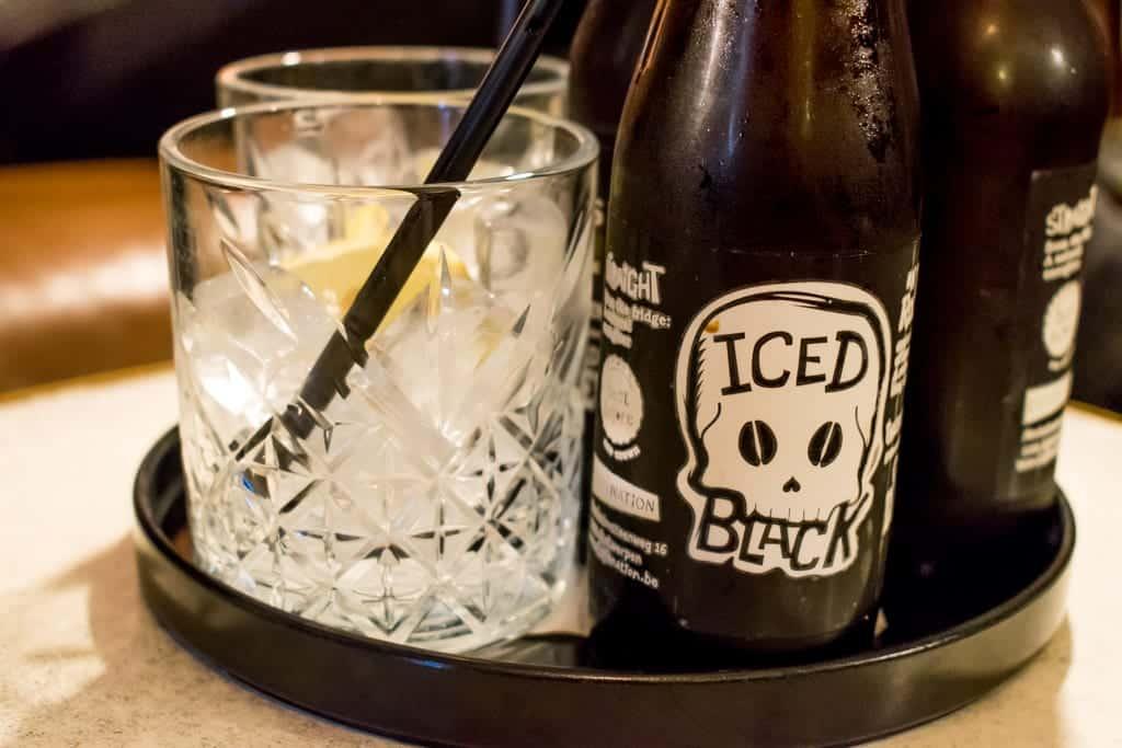 Iced Black bij Caffènation in Antwerpen
