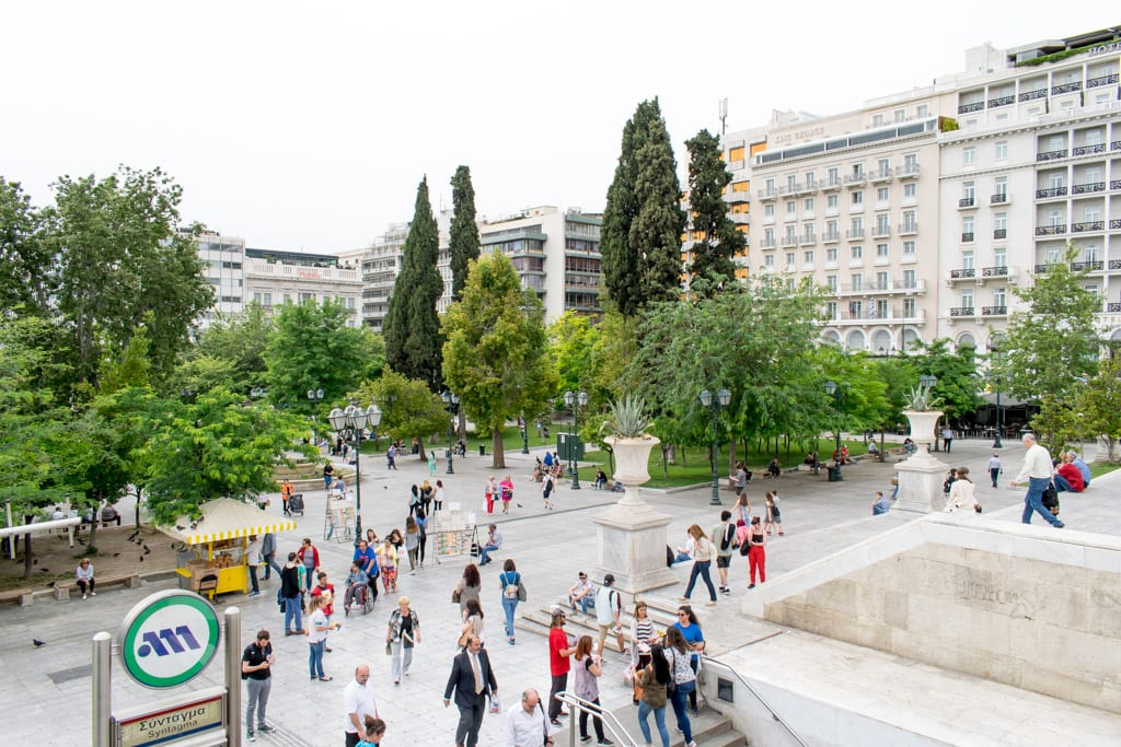 Syntagma Plein