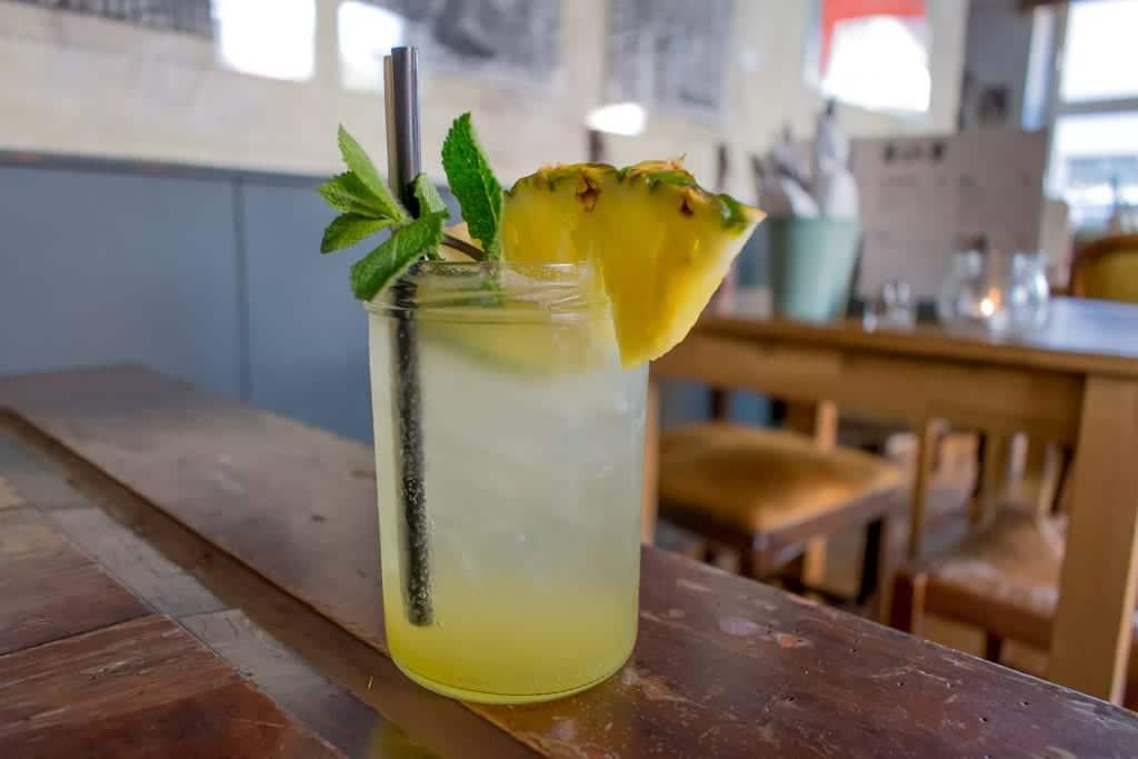 Cocktail bij The Bite in Zürich