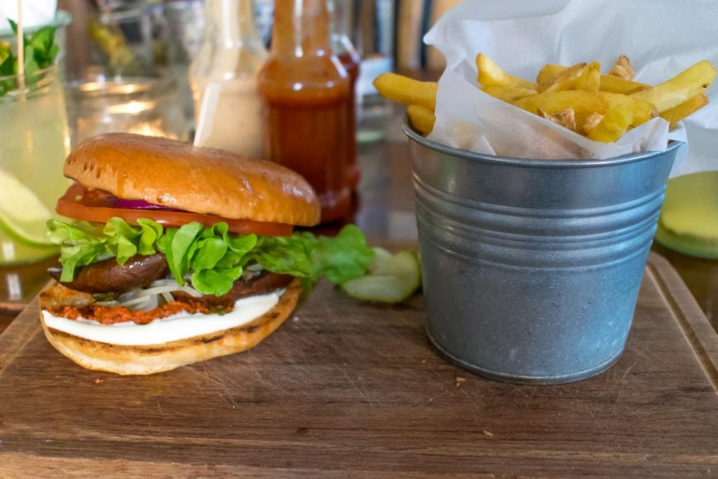 Burgers bij The Bite in Zürich