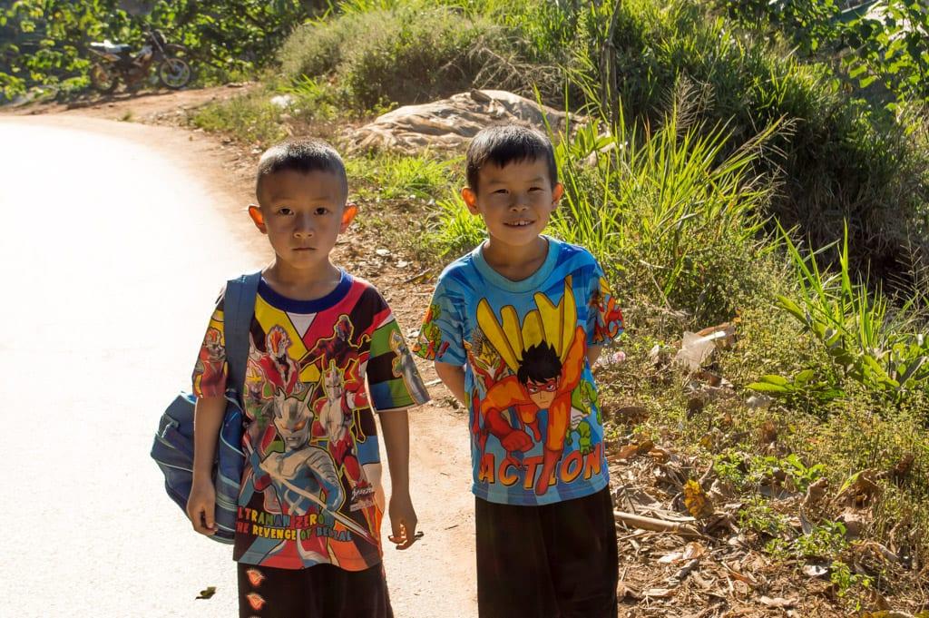 Kinderen in Thailand