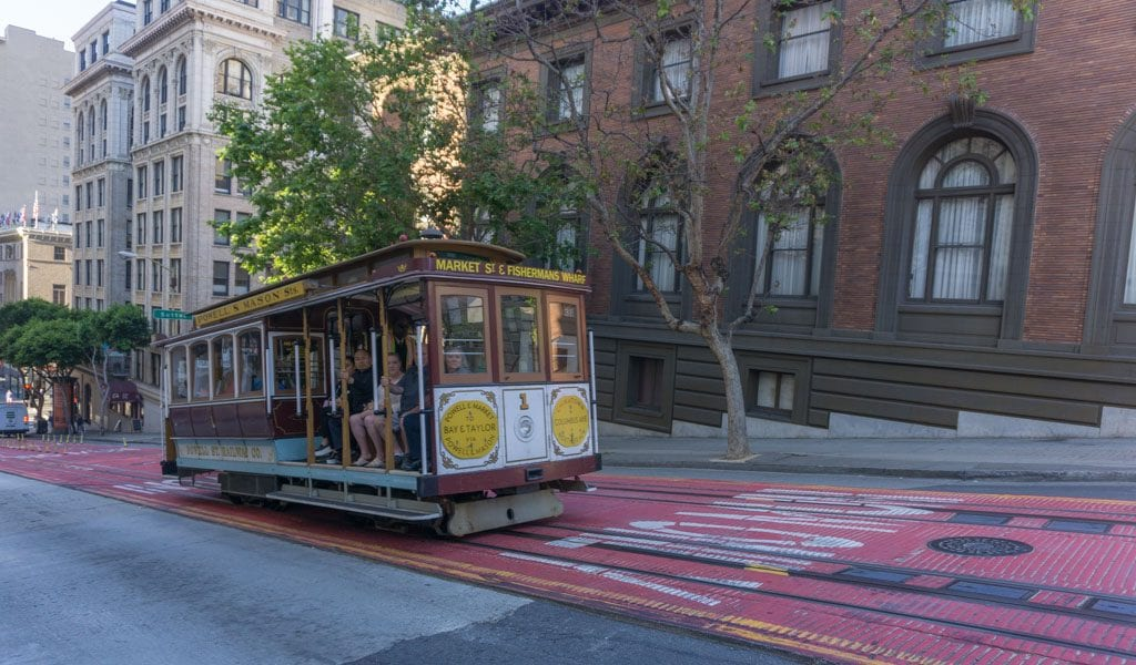 Doen in San Francisco - Cable Car