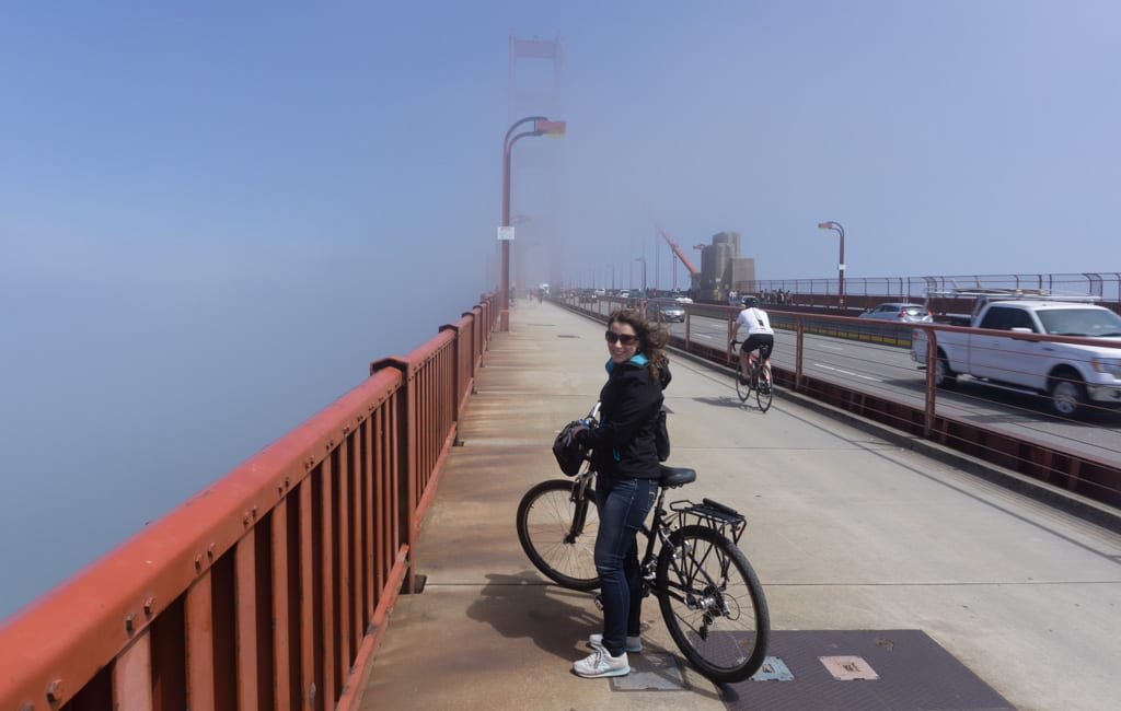 Doen in San Francisco - Golden Gate fietsen