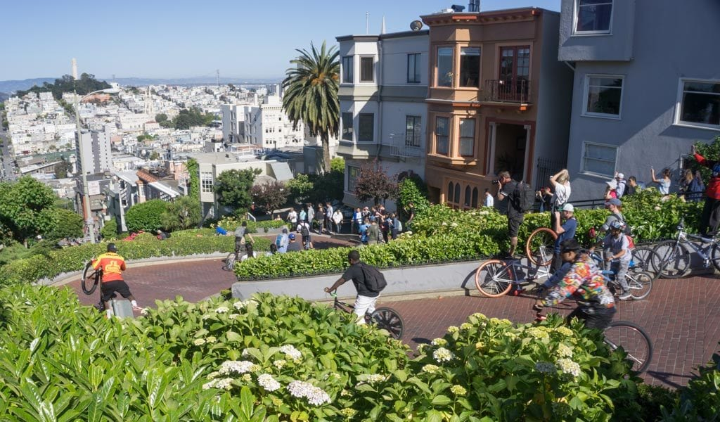 Doen in San Francisco - Lombard Street