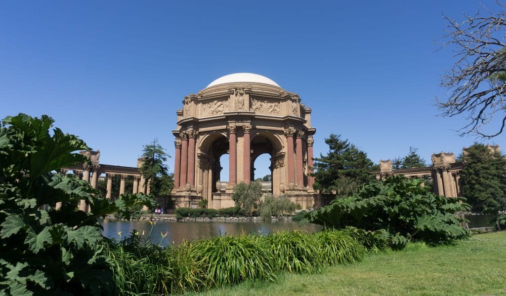 Doen in San Francisco - Palace of Fine Arts