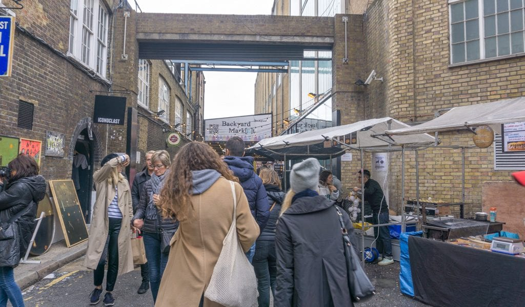 Shoreditch - Brick Lane Market