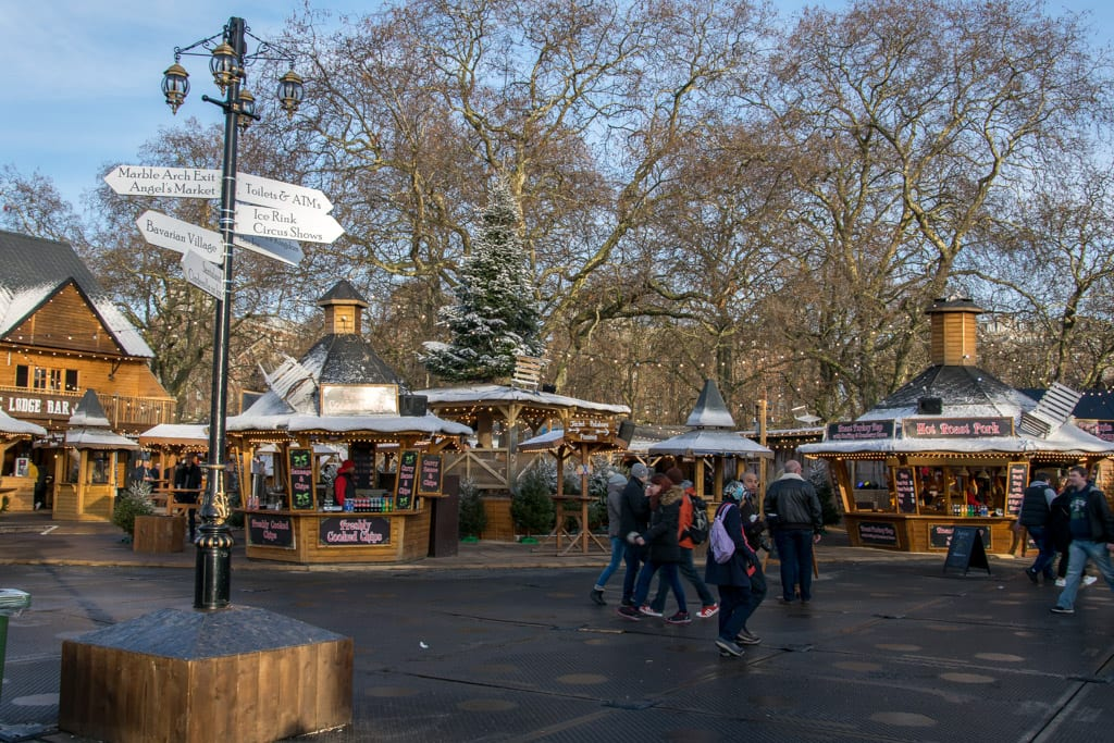 Winter Wonderland in Hydepark