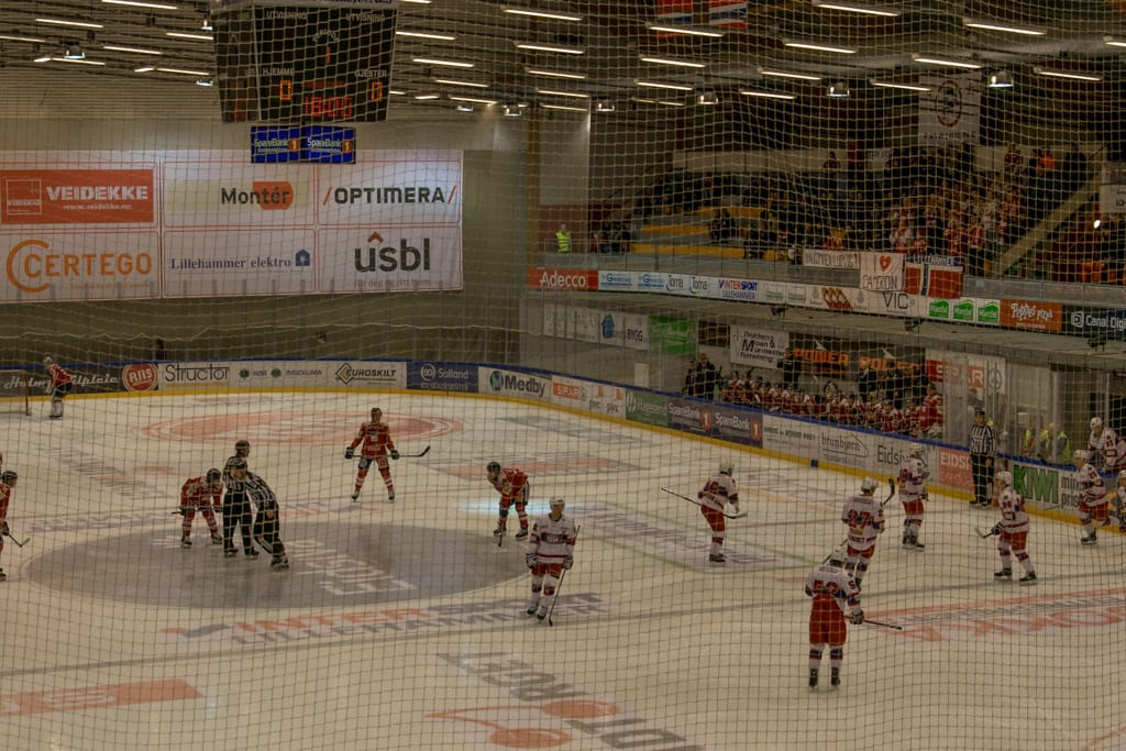 IJshockey in Lillehammer