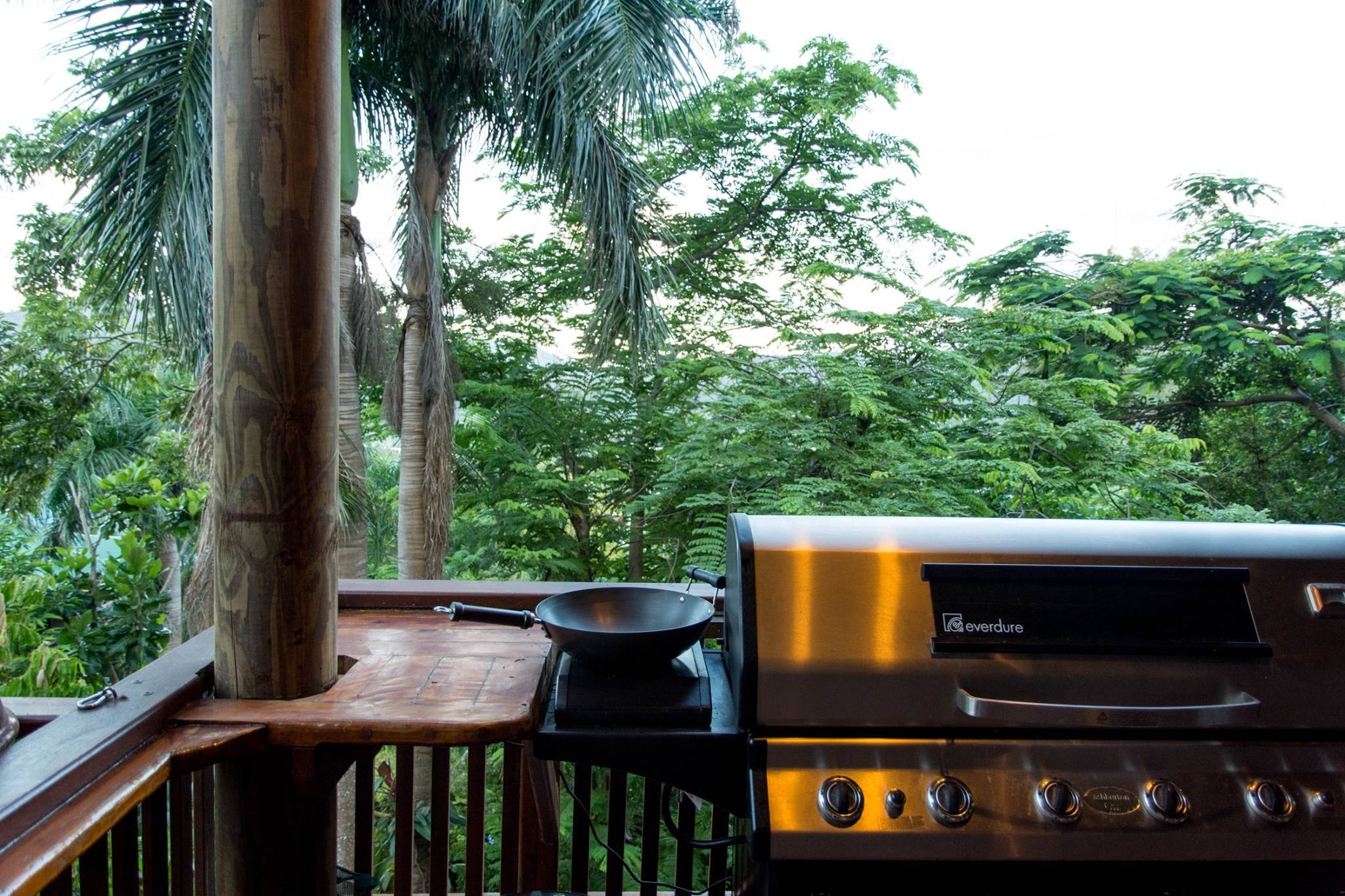 Barbecue bij Whitsundays BNB Retreat