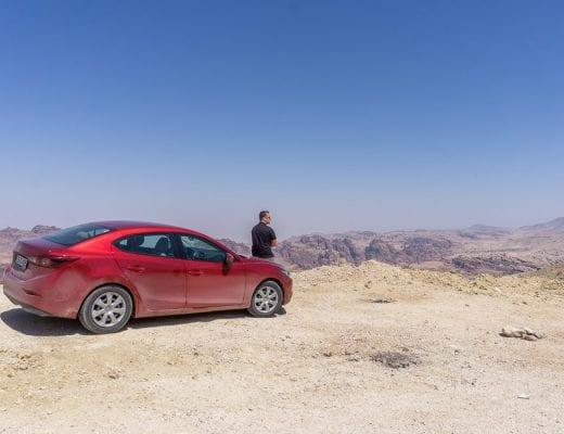 Jordanië Rondreis Route