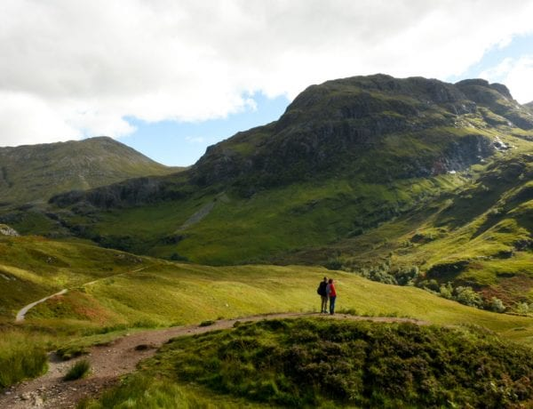 Three Sisters in Glencoe