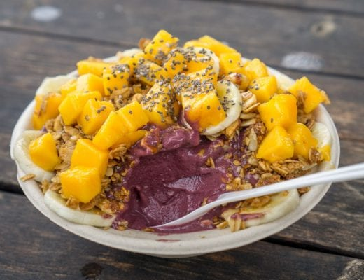 Eten Hawaii - Acai bowl