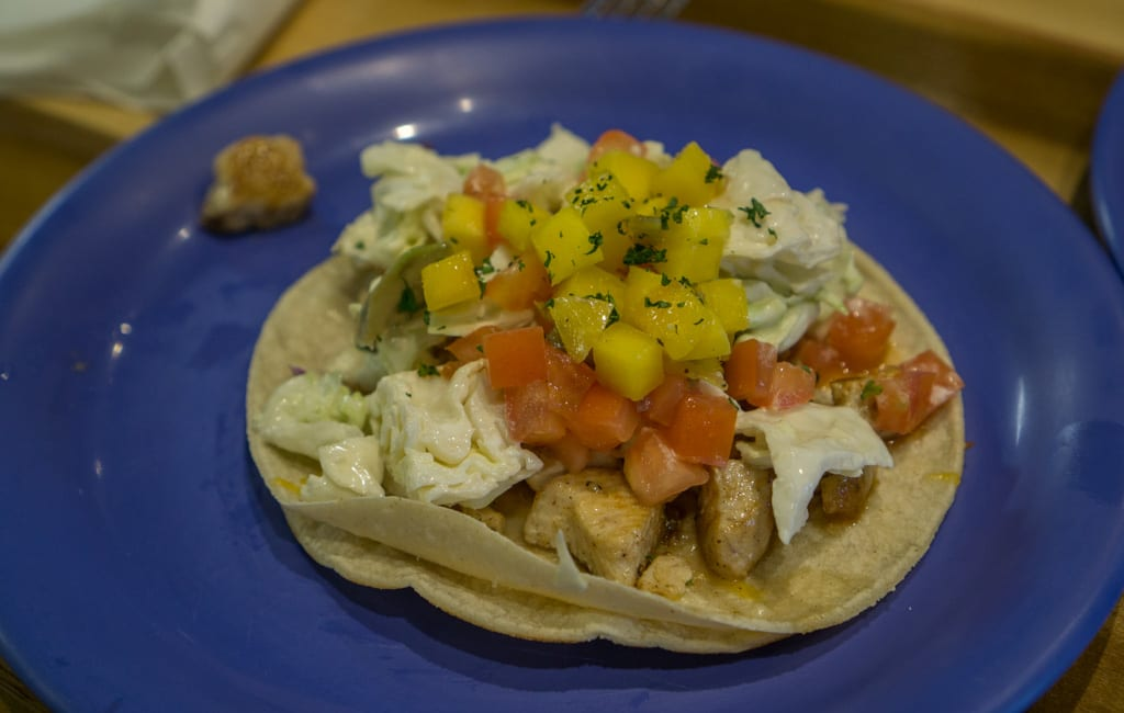 Eten Hawaii - Fish tacos