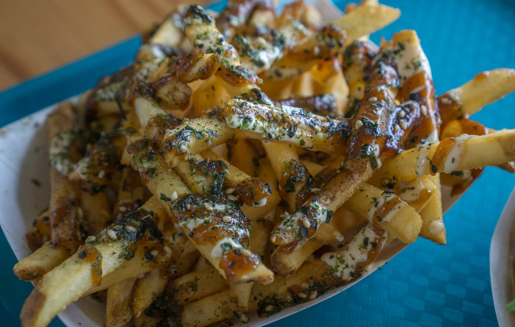 Eten Hawaii - Furikake umami fries