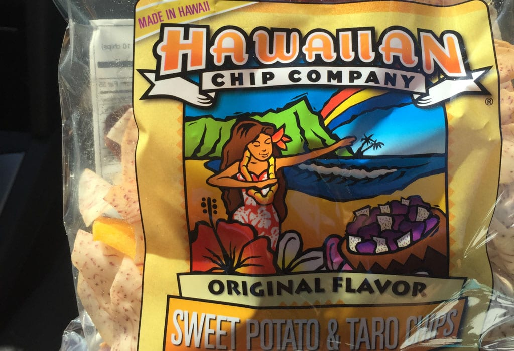 Eten Hawaii - Taro chips
