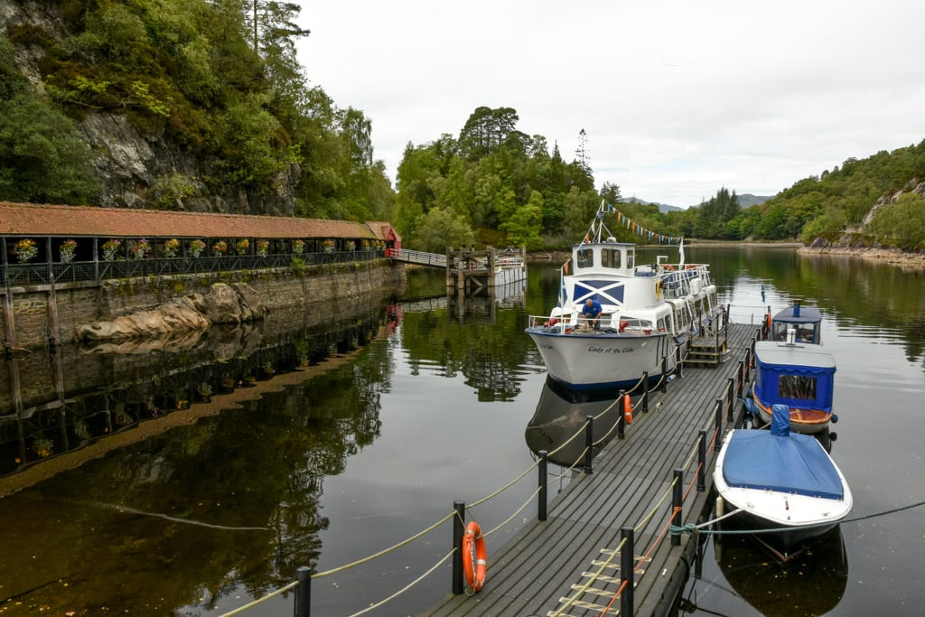 Lady of the Lake in Loch Katrine
