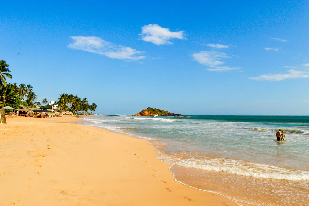 Mirissa in Sri Lanka