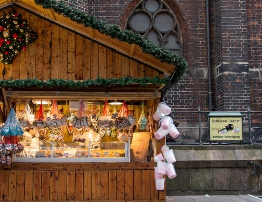 Kerst in Hamburg