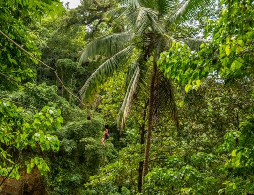 Zipline in de Dominicaanse Republiek