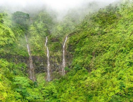 Kauai watervallen