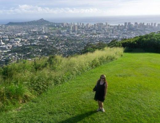 Oahu Tantalus Lookout